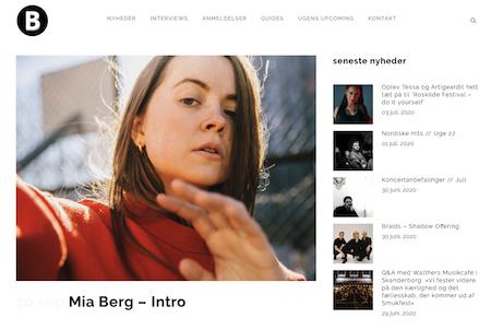 Mia Berg har præsteret en debut-EP, som helt sikkert vil henrykke alle lyttere med hang til fantasifuldt sammensat synth-pop.