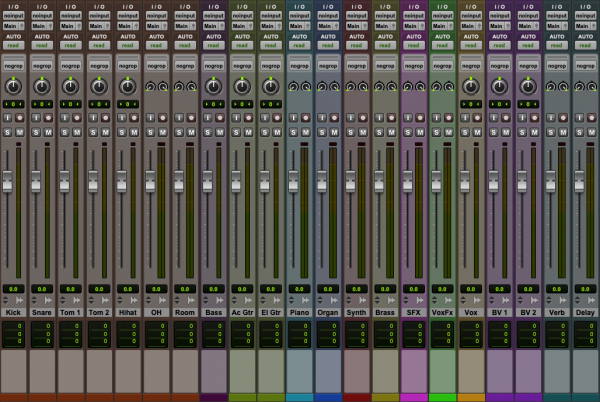 Sort out your track order | Pro Tools screenshot | Mix Prep Guide | Mixed by Jonas Kroon – Music Mixer, Mixing Engineer, Mix Engineer | #mixedbykroon