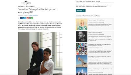 Sebastian Zalo og Odd Nordstoga med energitung låt!