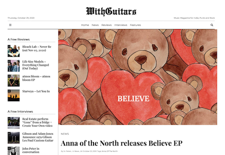 Anna of the North releases «Believe EP»